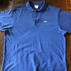 Men's XL Lacoste Short Sleeve Polo